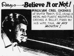 """Carl Skenes citado por """"Ripley's - Belive ir or not""""(Clique na imagem para ampliá-la)"""