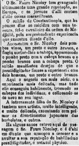 "FIGURA 6 - Jornal ""Gazeta de Notícias"" 10.06.1876, p.1. (Clique na imagem para ampliá-la)"