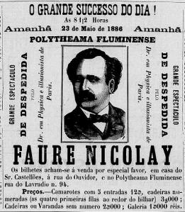 "FIGURA 8 - Jornal ""O Programma Avisador"", 1886.05.22, p.1. (Clique na imagem para ampliá-la)"