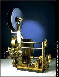 FIGURA 9 - Vitascópio ou Cinematógrafo de Edison (Clique na imagem para ampliá-la)