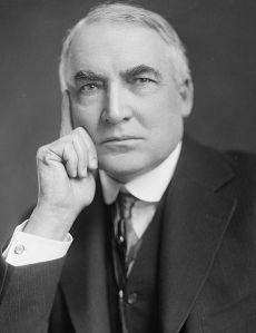 Presidente Theodore Harding (Clique na imagem para ampliá-la)