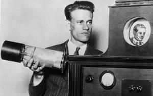 Philo Farnsworth, inventor da televisão (Clique na imagem para ampliá-la)