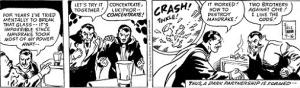 Luciphor e Derek unindo poderes contra Mandrake