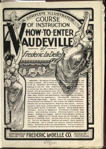 """""""Como entrar no Vaudeville"""" (Clique na imagem para ampliá-la)"""