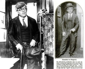"Houdini disfarçado com ""Mr. WHite"""