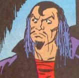 Luciphor, meio-irmão de Mandrake, sem a máscara