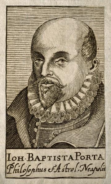 V0004749 Giovanni Battista della Porta. Line engraving, 1688.