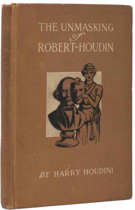 unmasking-robert-houdin-1st-edition