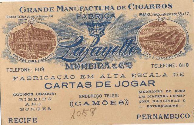Pront. func. 5585 - Fábrica Lafayette Moreira e Cia